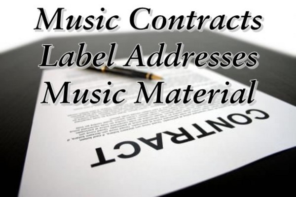 Product picture r86 Music Contracts Major label address